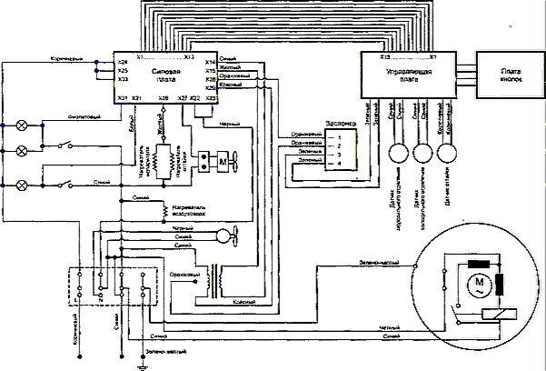 Схема электрическая - Схема